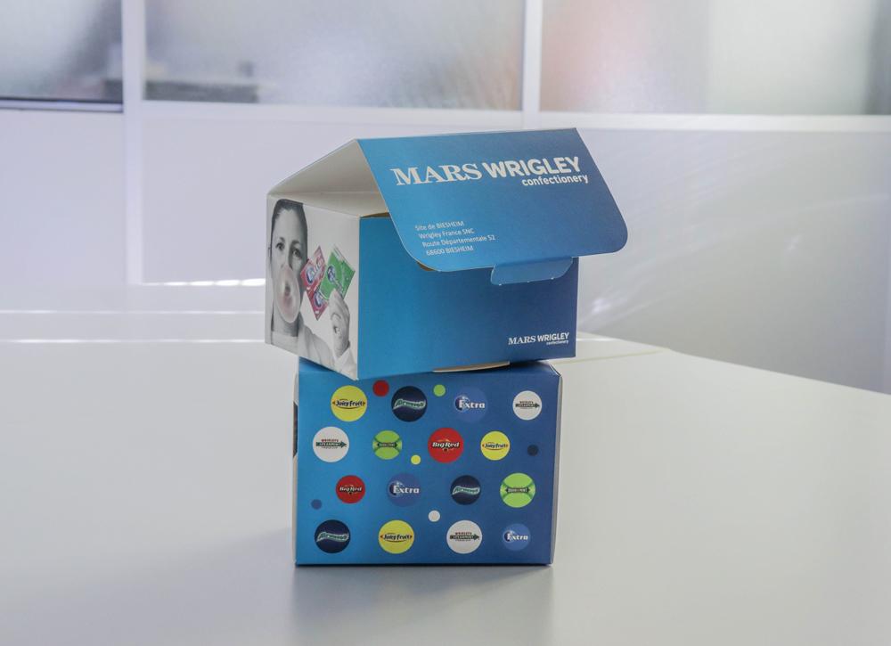 Boite pliante imprimée packaging personnalisé EURHODE - Colmar