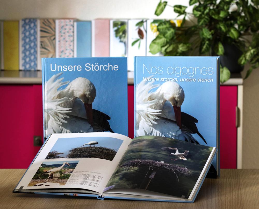 Livre A4 dos carre cousu couverture rigide - EURHODE communication colmar