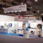 Création de visuels pour stands sur salons internationaux - EURHODE communication Colmar