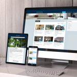 Site immobilier annonces en ligne - EURHODE communication Colmar