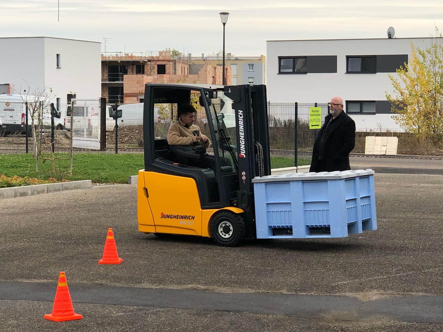 Une bonne gestion des déchets chez EURHODE Colmar