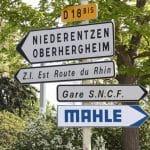 Signalétique directionnelle routière - EURHODE Colmar