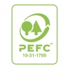 Label PEFC papier issu de sources responsables
